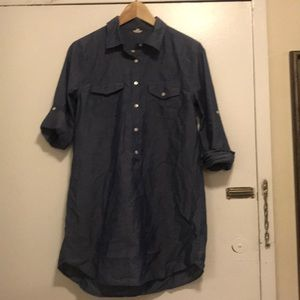 J.crew chambray top size s